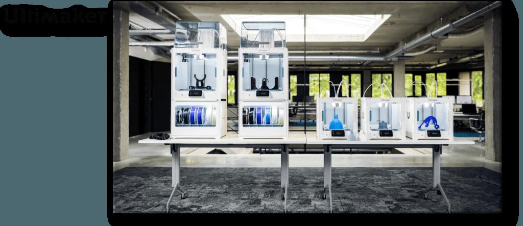 Die neuen Modelle von Ultimaker, September 2019